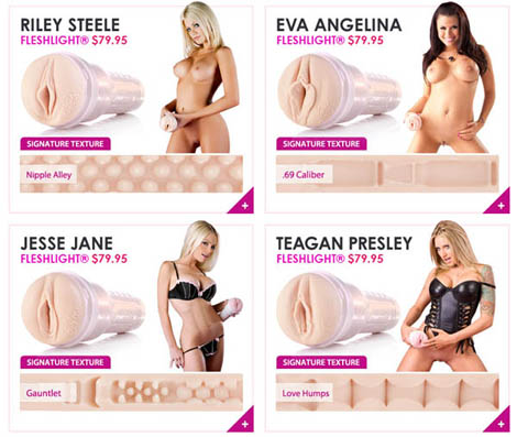 What Would Your Fleshlight Signature Texture Feel Like?
