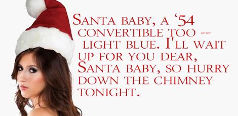 Santa Baby April O'Neil