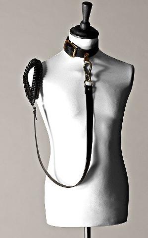 Lovechain Collar by Les Jeux Du Marquis