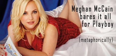Meghan McCain on Playboy