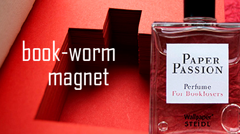 A perfume that smells like books