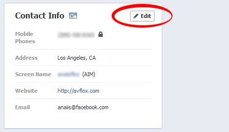 fixing your Facebook e-mail step 2