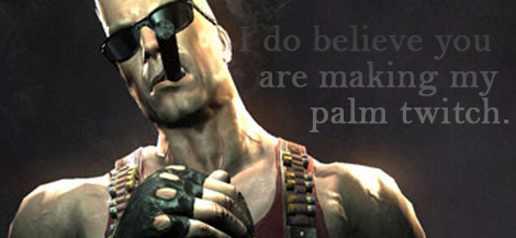 Fifty Shades of Duke Nukem