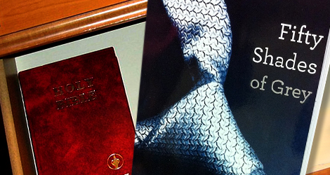 Tr===Shelving the Bible in favor of Fifty Shades of Grey?