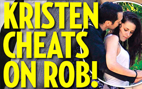 Kristen Stewart cheats on Robert Pattison