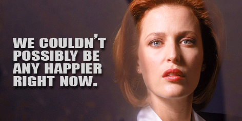 Dana Scully likes girls too